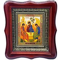 Фигурная икона Святая Троица рублёвская