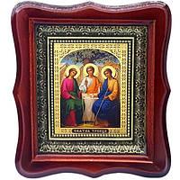 Фигурная икона Святая Троица ветхозаветная