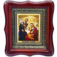 Фигурная икона Святое семейство