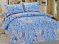 Комплект постельного белья полуторный Лебеди