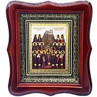 Фигурная икона Собор Отцев Святогорских
