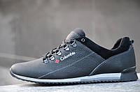 Кроссовки, спортивные туфли кожаные Columbia реплика мужские удобные