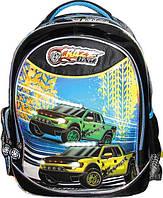 """Рюкзак CLASS 96001 2відділення """"Crazy Car"""""""