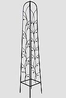 Опора для садовых растений К 04 кованая (высота 165см, ширина стороны 30см)