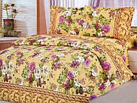Комплект постельного белья двуспальный Цветная поляна