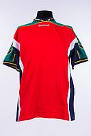 Спортивная футболка мужская красная hummel