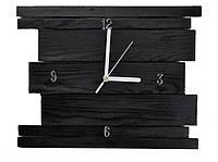 Настенные деревянные часы ручной работы