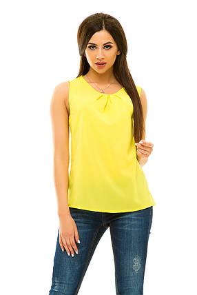 Блузка  322 желтая, фото 2