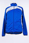 Спортивная весенняя куртка для бега мужская синяя hummel