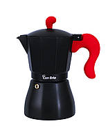 Кофеварка гейзерная Con Brio CB-6606 (300мл) (на 6 чашки)