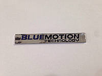 Эмблема надпись багажника Bluemotion
