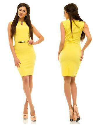 Платье 234 желтое, фото 2