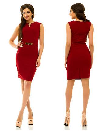 Платье 234 бордо, фото 2