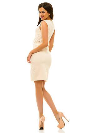 Платье 234 бежевое, фото 2
