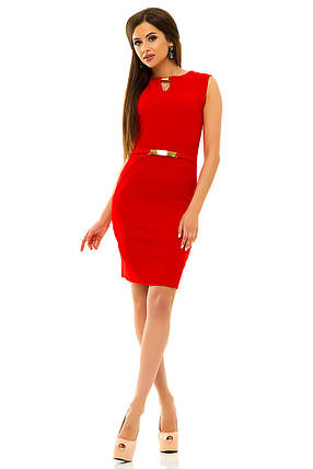 Платье 234 красное, фото 2