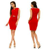 Платье 234 красное