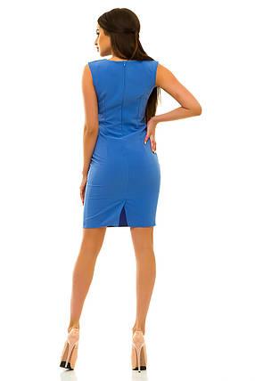 Платье 234 голубое, фото 2