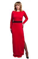 Женское платье Эшли праздничное, нарядное, вечернее размер  44, 46, 48, 50, 52, 54, 56 красное