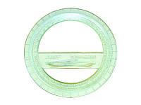 Транспортир пластиковый 360* Спектр
