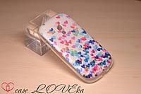 "Чехол Samsung Galaxy S3 Mini I8190  ""Сердца"""