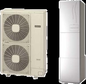 Высокотемпературные тепловые насосы Hitachi