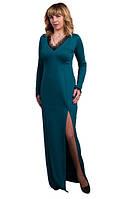 Женское платье Патриция праздничное, нарядное, вечернее размер  44, 46, 48, 50, 52, 54, 56  бирюзовое