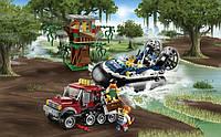 Конструктор Lego City Полицейское судно на воздушной подушке 60071