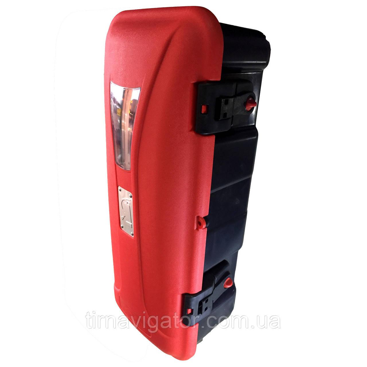 Ящик огнетушителя 6кг ISIKSAN (680х270х250, красно-чорный)