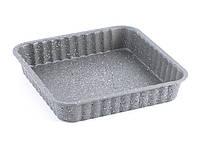 Форма из нержавеющей стали для выпечки пирога 24х24х4.5см Fissman (BW-5594.24)