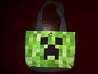 Пляжная летняя сумка Майнкрафт Крипер