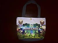 Пляжная летняя сумка Майнкрафт