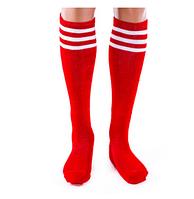 Гетры футбольные N047 (красные)