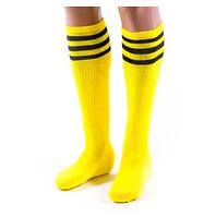 Гетры футбольные N047 (желтые, р. 39-45)