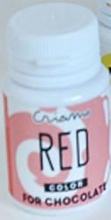 Краситель ДЛЯ ШОКОЛАДА пищевой жирорастворимый гелевый Красный, Criamo