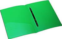 Папка А4 5см 4 кільця PVC картон асс Norma