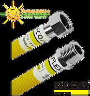 Шланг для газа нержавеющий Супер 40 см ecoflex 3/4 гш