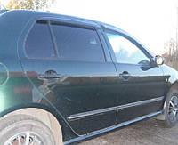 Дефлекторы окон ветровики Skoda Fabia I 1999-2010