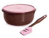 Замесочное блюдо 3л в шоколадном  цвете Tupperware