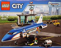 Конструктор LEGO City Пассажирский терминал в аэропорту 60104