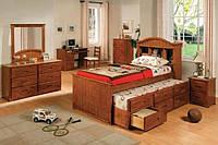 Односпальная кровать с ящиками - Сарваер