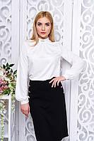 Офисная женская блуза Мускат молоко Arizzo 44-52  размеры
