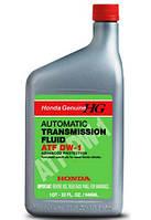 Трансмиссионное масло для АКПП HONDA ATF DW-1 (08200-9008) синтетическое оригинальное трансмиссионное  масло