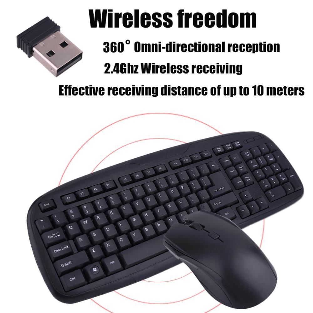 Клавиатура COMBO (+ мышка беспроводная радио) G9, фото 1