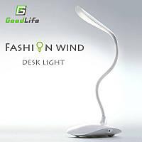 Лампа светодиодная на аккумуляторе USB LED 001
