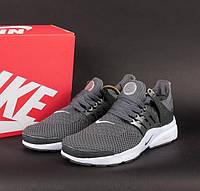 Кроссовки Nike Air Presto Grey/White мужские