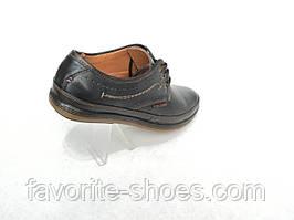 Кожаные мужские туфли YDG стиль ECCO