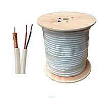 TV кабель RG59CU+2*0 75 с питанием 75 Ом