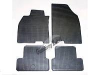 Коврики резиновые Skoda Rapid 2012-.../Seat Toledo 2013-... (4 шт.) Шкода РапидСиат Толедо DOMA 217884
