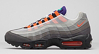 "Кроссовки Nike Air Max 95 ""Grey/Multicolor"" Арт. 0833"