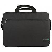 Сумка для ноутбука Grand-X SB-120 (Черный) походная прочная для лептопа жесткая с ремнем